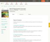 Trigonometry Concepts