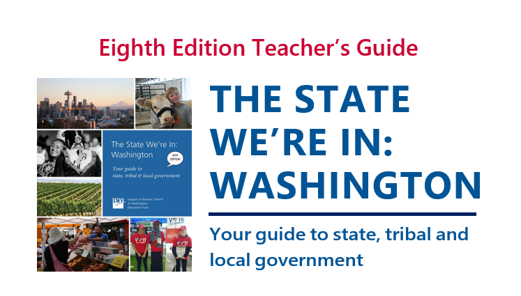 State We're In: Washington - Teacher Guide