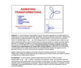 Animating Transformations