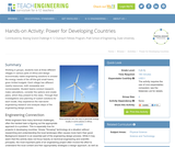 Power for Developing Countries