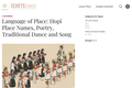 Language of Place: Hopi Place Names, Poetry, Traditional Dance and Song