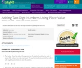 Adding Two Digit Numbers Using Place Value