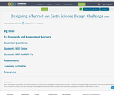 Designing a Tunnel: An Earth Science Design Challenge