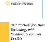 Best Practices for Using Technology with Multilingual Families Toolkit