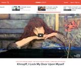 Khnopff's I Lock the Door Upon Myself, 1891