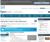 Using Film Music in the Classroom