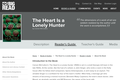 The Heart Is a Lonely Hunter by Carson McCullers - Reader's Guide