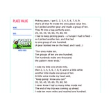 Place Value Lyrics & Vocabulary Reinforcement Sheet for Popular Math Song