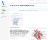 Heart Structure - Anatomy & Physiology
