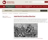 Reading Like a Historian: The 1898 North Carolina Election