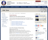 Suggested Lesson Plans Using the CIA Web Site