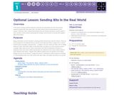 CS Principles 2019-2020 1.3.15: Sending Bits in the Real World
