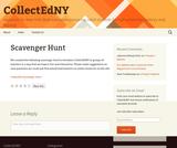 CollectEdNY Scavenger Hunt