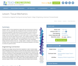 Tissue Mechanics