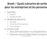 OER-UCLouvain: Brexit: quels scénarios de sortie pour les entreprises et les personnes?