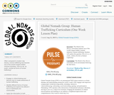 Global Nomads Group: Human Trafficking Curriculum (One Week Lesson Plan)