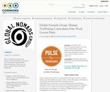 Global Nomads Group: Human Trafficking Curriculum (One Week Lesson Plan)