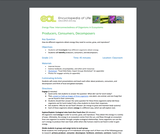 Energy Flow Activity 2: Producers, Consumers, Decomposers (Grades 2-5)