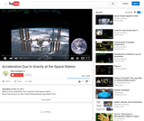 Physics: Acceleration Due to Gravity at the Space Station