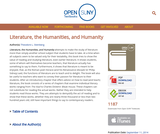 Literature, the Humanities, and Humanity | Open SUNY Textbooks