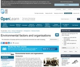 Environmental Factors and Organisations