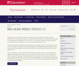 Grade 1: Reading Foundations Skills Block: Module 2
