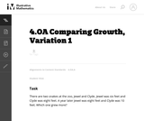 Comparing Growth, Variation 1