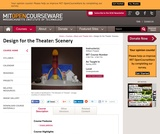 Design for the Theater: Scenery, Spring 2005