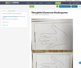 Thoughtful Classroom Kindergarten