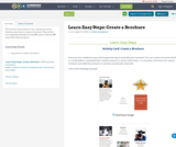 Learn Easy Steps: Create a Brochure