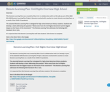 Remote Learning Plan: Civil Rights Overview High School