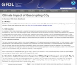 Climate Impact of Quadrupling Atmospheric CO2: An overview of GFDL Climate Model Results