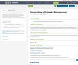 Researching a Nebraska Entrepreneur