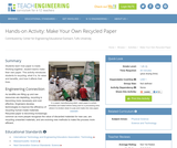 Make Your Own Recycled Paper
