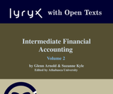 Intermediate Financial Accounting Volume 2