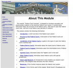 Federal Court Concepts