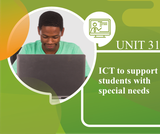 ICT to Support Students with Special Needs