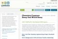Chemistry Capstone Essay: One World Essay