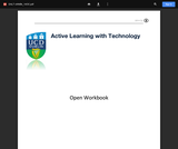 Active Learning with Technology: Open Workbook