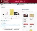 40-50-100: Milestones in Arkansas's Environmental History