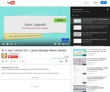 #13 Java Tutorial: GUI - Layout Manager #neue Version