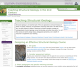 Teaching Structural Geology in the 21st Century