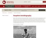 Reading Like a Historian: Snapshot Autobiography