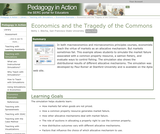 Economics and the Tragedy of the Commons