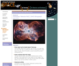 Amazing Space: Planetary Nebula NGC 2440 Lithograph