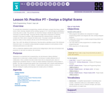 CS Principles 2019-2020 3.10: Practice PT - Design a Digital Scene