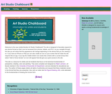 Art Studio Chalkboard: A Technical Resource for Artists and Art Students