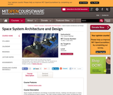 Space System Architecture and Design, Fall 2004