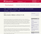 Grade 1: Reading Foundations Skills Block: Module 4