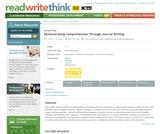 Demonstrating Comprehension Through Journal Writing